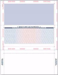 Blank Z Fold Pressure Seal Checks